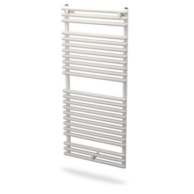 Kúpeľňový radiátor SKALAR - SANTORINI 1134 x 900, rebríkový radiátor, SAN1109