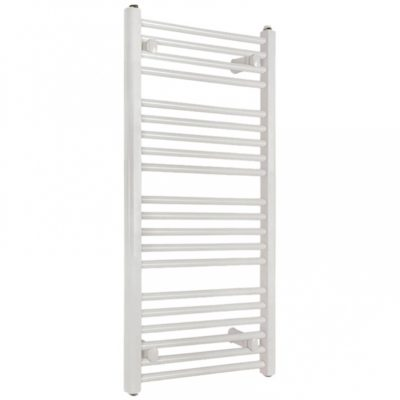 Kúpeľňový radiátor SOLID 750 x 1180 mm, biely, rovný, rebríkový radiátor, 750x1180 flat