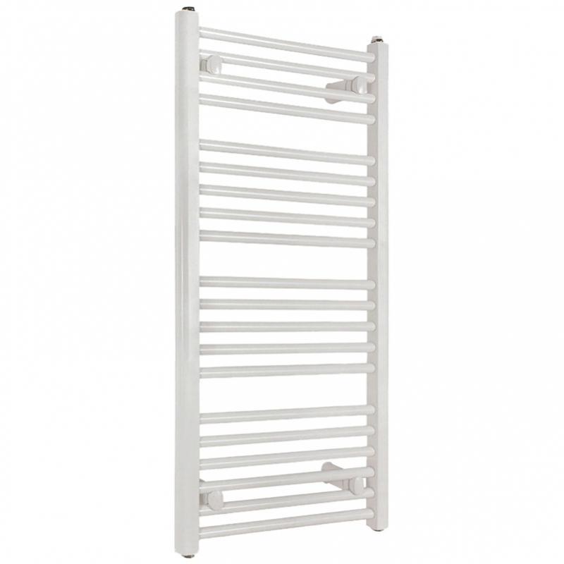 Kúpeľňový radiátor SOLID 600 x 1180 mm, biely, rebríkový radiátor, 600x1180 flat