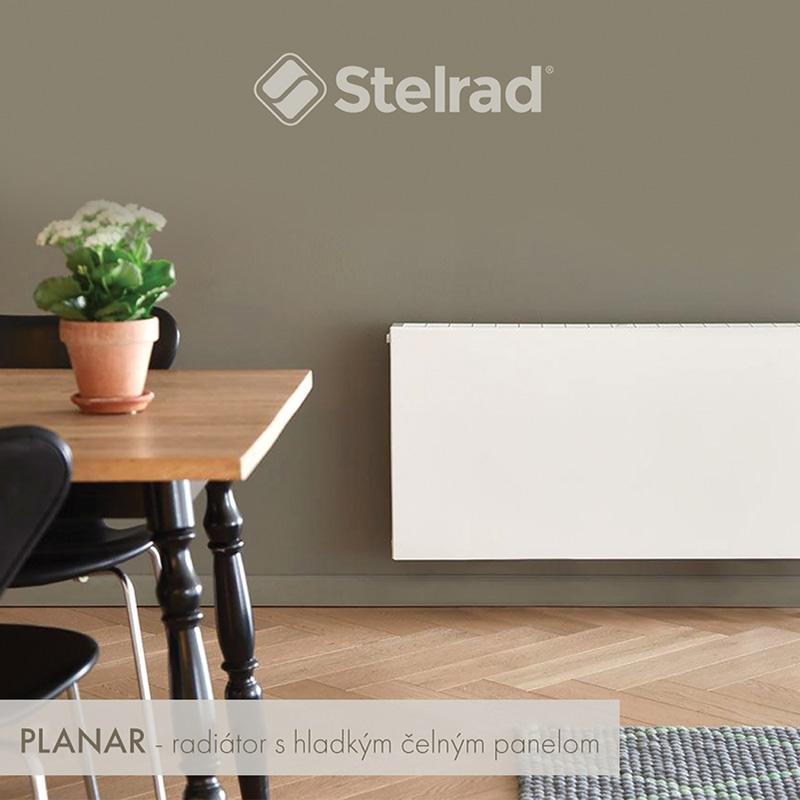 Panelový radiátor STELRAD  VK20 300x2300 Planar VK, SP20VK300x2300