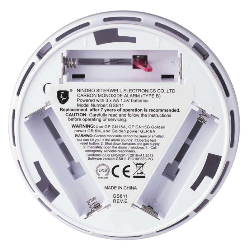 Detektor oxidu uhličitého  CO EMOS GS811