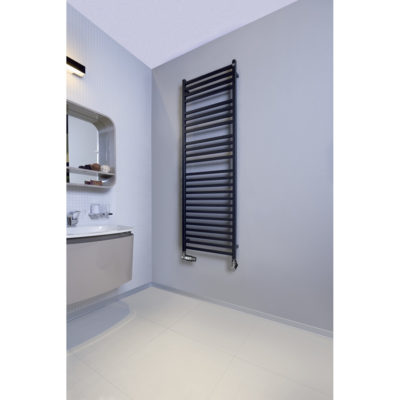 Kúpeľňový radiátor ZEHNDER,  VISION 792x500 ČIERNA MAT