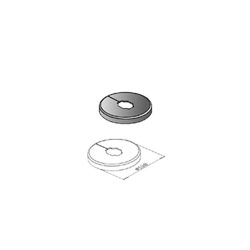 Krytka stojanovej konzoly Standfix Plus spodný diel, 10-824-10