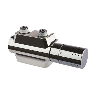 Pripojovacie šrúbenie s integrovaným termostatickým ventilom Variodesign,chróm