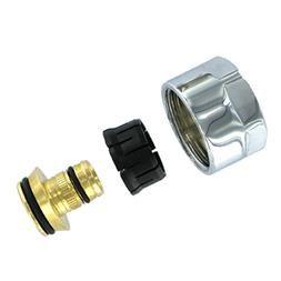 Svorné šrúbenie pre AL/PE-X,Al/PERT,chróm 835PE-C