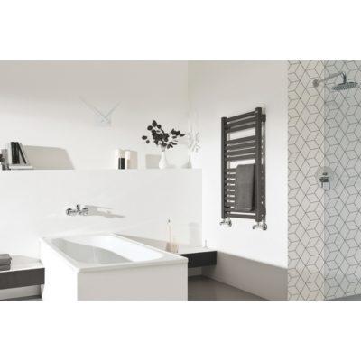 Kúpeľňový radiátor ANGU AAN, 900 x 450, 370W