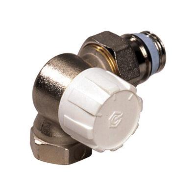 Termostatický ventil rohový DN15,ľavý