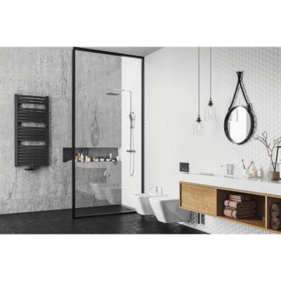Kúpeľňový radiátor NADIRW AD-W, 1400 x 550, 712W