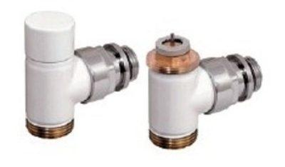 Set-rohový ventil a regulačné šrúbenie D3804-B