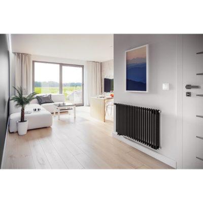 Dizajnový radiátor horizontálny CEZAR AF2, 600 x 1750, 2040W
