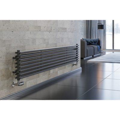 Dizajnový radiátor horizontálny CEZAR AH2, 550 x 1800, 1640W
