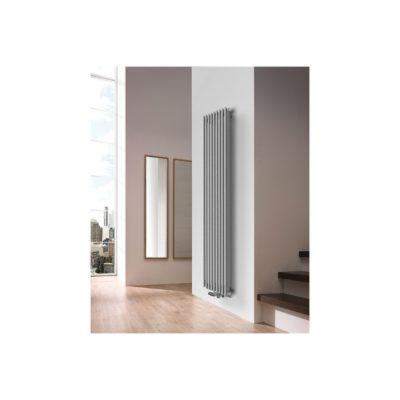 Kúpeľňový radiátor vertikal CEZAR AD1, 1000 x 400, 413W GR